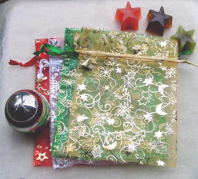 organzabeutel weihnachten seifen und mehr stella 39 s shop